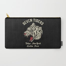 Carry-All Pouch - Seven Tigers - Anthony Troester