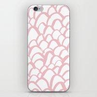 Blushing / Painted Patte… iPhone & iPod Skin