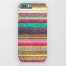 Stripes - pattern Slim Case iPhone 6s