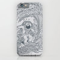 iPhone & iPod Case featuring I only surf on Comets by Peter Kramar