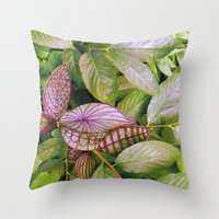 leaves evolved 2 Throw Pillow