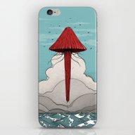 iPhone & iPod Skin featuring Méduse Volante #5 by Deusexmuraena