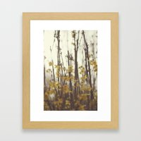 Golden Bells Framed Art Print