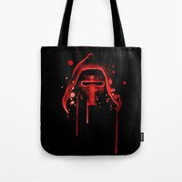 Bad Grandson Watercolor Tote Bag