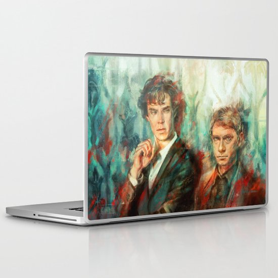 Ghosts Laptop & iPad Skin
