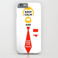 Stay Calm And Aim For Th… iPhone 6 Slim Case