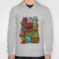 The Birds Of Monkland Village Hoody