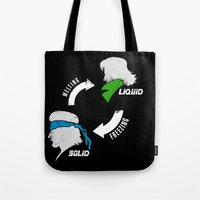 Metal Gear: Solid Liquid States Tote Bag