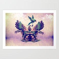 monster Art Print
