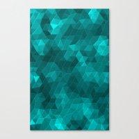Kaleidoscope Series Crystal Canvas Print