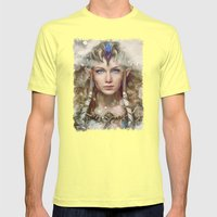 Epic Princess Zelda From… Mens Fitted Tee Lemon SMALL