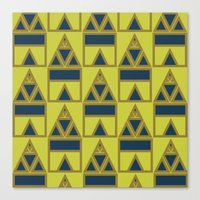 Pattern Print Edition 1 … Canvas Print