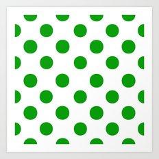 Polka Dots............. Art Print