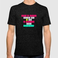 Don't mess with I am a smart device! Mens Fitted Tee Tri-Black SMALL