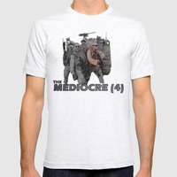 The Mediocre (4) Mens Fitted Tee Ash Grey SMALL