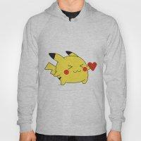 Pikachu In Love  Hoody