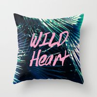 Wild at Heart I Throw Pillow