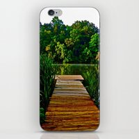 Out On The Dock iPhone & iPod Skin