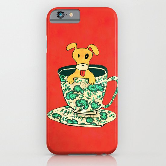 Dinnerware Sets - puppy in a teacup iPhone & iPod Case