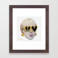 Moschino Framed Art Print