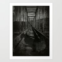 trainbridge Art Print