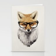 Mr. Fox Stationery Cards