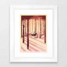 Time for an Adventure Framed Art Print