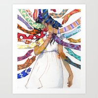 Shielding  Art Print