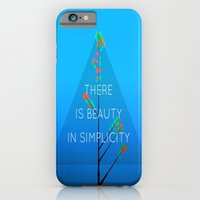 iPhone & iPod Case featuring Simple Tree ( series ) by Laura Santeler
