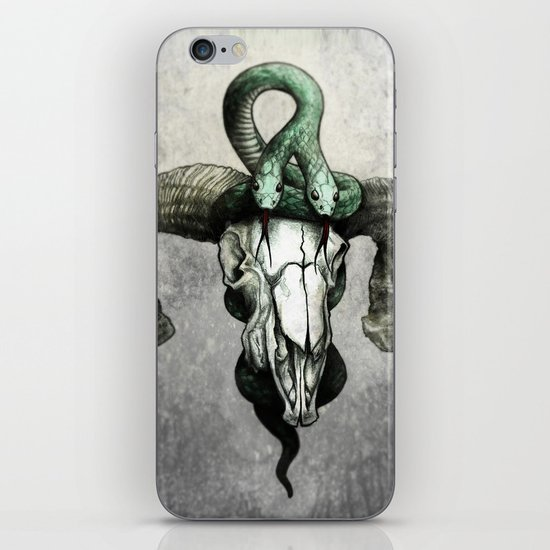 Hell followed with him iPhone & iPod Skin