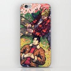 William and Theodore 20 iPhone & iPod Skin