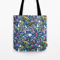 Sad Rainbow Pattern Tote Bag
