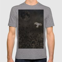 Beautiful Dreamer Mens Fitted Tee Athletic Grey SMALL