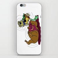 YOGI HAD A BOO BOO. iPhone & iPod Skin