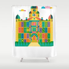 Denton Courthouse Shower Curtain