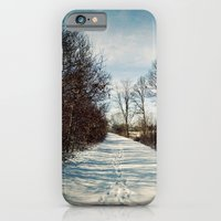 iPhone & iPod Case featuring Winter Path by Em Beck