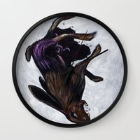 Untitled (dead Things 08… Wall Clock
