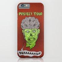 Zombie Brains iPhone 6 Slim Case