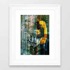 the last call Framed Art Print