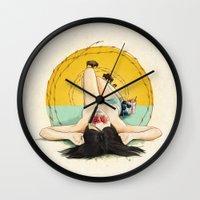 Miss Oklahoma Wall Clock