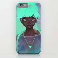 iPhone Cases featuring lumen by loish