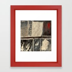 Textured Marble Framed Art Print