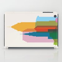 Shapes of Cleveland accurate to scale iPad Case