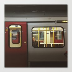 On the tube Canvas Print