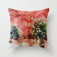 the three sisters Throw Pillow