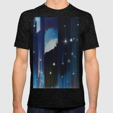 Nightfall Mens Fitted Tee Tri-Black SMALL