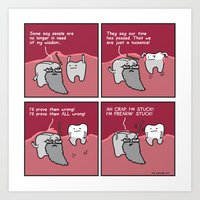 Wisdom Tooth Makes An Im… Art Print