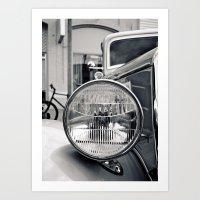 Classic Headlight Art Print