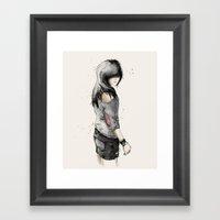 Adik Framed Art Print