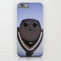 Look into my eyes iPhone 6 Slim Case